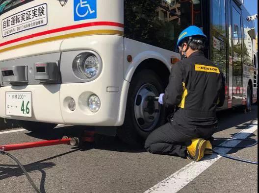 住友橡胶自动驾驶胎压监测系统试验成功
